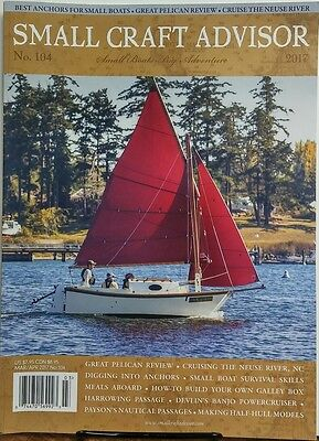 Small Craft Advisor Mar Apr 2017 Best Anchors For Small Boats FREE SHIPPING (Best Small Boat Anchor)