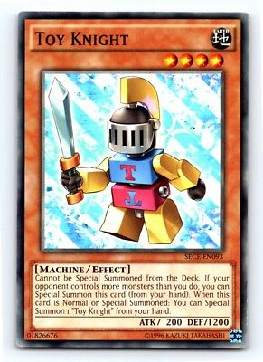 Toy Knight - Yugioh Card - Mint / Near Mint Condition