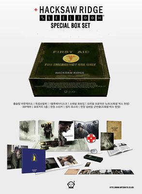 Hacksaw Ridge Steelbook Special Box Limited Edition (Kimchidvd No.70)Region Free for sale  Oceanside