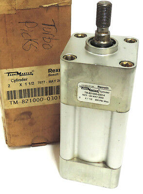 New Rexroth-bosch Tm-821000-03014 Cylinder Square 2in Bore 1-12in Stroke 200psi