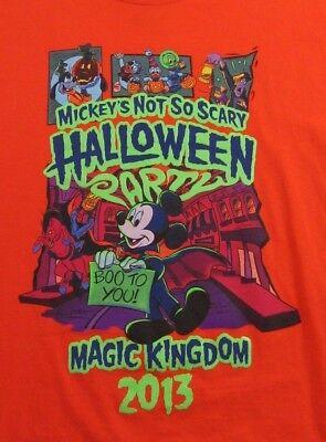 arks Halloween Party Magic Kingdom 2013 T Shirt Size M (Halloween-party-magic Kingdom)