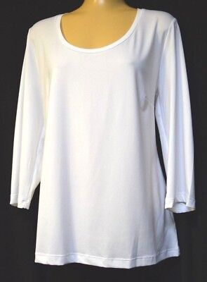 TS top TAKING SHAPE plus sz XS /14 Integra 3/4 Sleeve Body Tee comfy stretch NWT