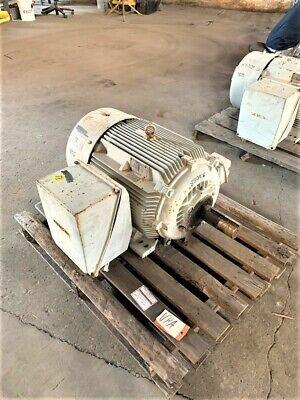 75 Hp Siemens Ac Electric Motor 1200 Rpm Fr 405t Tefcbb 460 V New