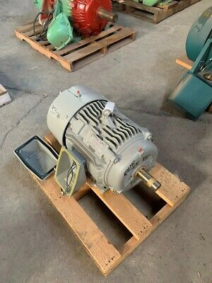 20 Hp Siemens Ac Electric Motor 1200 Rpm Fr 286t Tefcbb 575 V New
