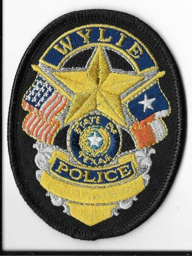 Wylie Police Department, Texas Breast Patch