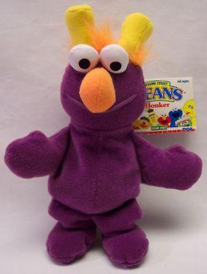 Sesame Street Honkers (TYCO Sesame Street Bean Bag PURPLE HONKER 8