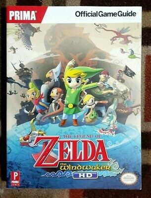 The Legend of Zelda - The Wind Waker HD Prima Official Strategy Game Guide
