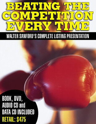Walter Sanford Real Estate CDs DVDs Beating the Competition BEST LISTING (The Best Real Estate)