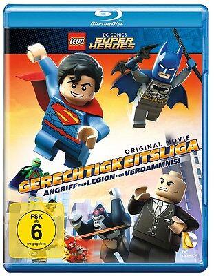 Blu-ray * Lego Gerechtigkeitsliga -Angriff der Legion der Verdammnis * NEU OVP