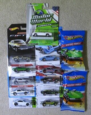 Hot Wheels Camaro Lot: 12 + Greenlight - ZAMAC, Walmart, TRU, Target Exclusives
