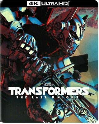 Transformers The Last Knight 4K Ultra HD Blu Ray Digital Best Buy SteelBook New
