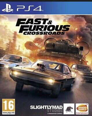 Fast And Furious Crossroads PS4 AUGUST RELEASE