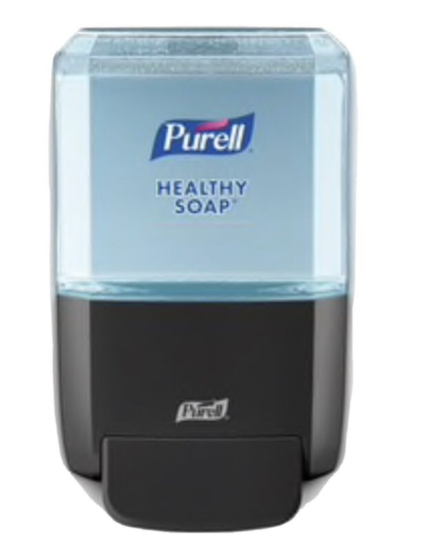Pure—Wall Mounted Push Style Soap Dispenser Kit-40 Oz Healthy Soap Included