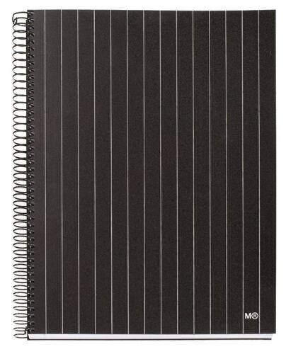 Miquelrius Pinstripe 4-subject College Rule Notebook 6.5x8