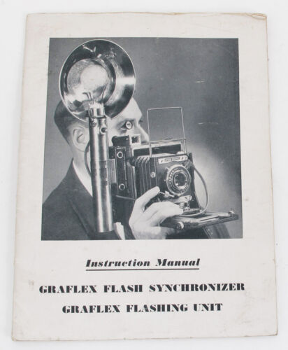 Original Graflex Instruction Manual for 3-Cell Flash Unit Synchronizer