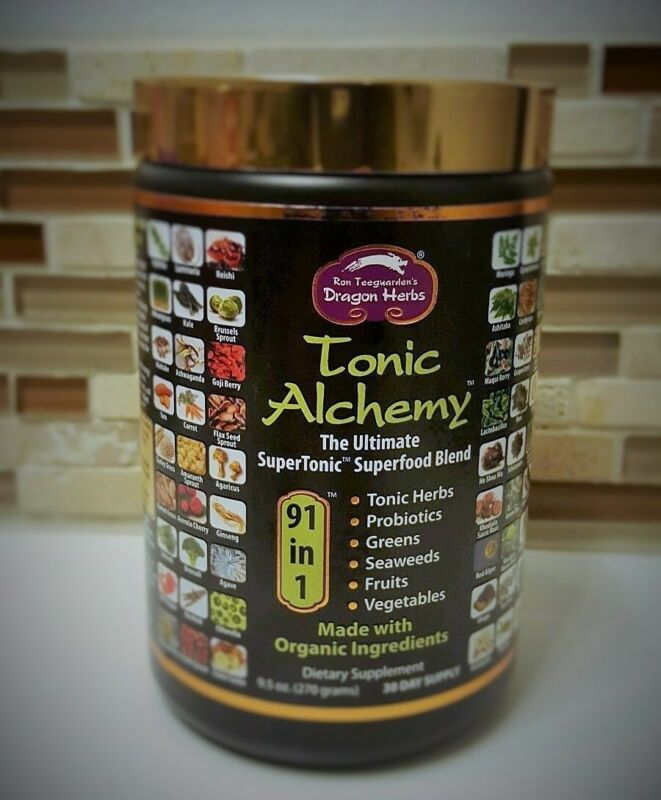 Dragon Herbs Tonic Alchemy Ultimate Superfood Blend  9.5 oz