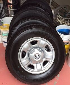 """New Holden Colorado RG 16"""" Rims and Tyres x 5 Noosa Heads Noosa Area Preview"""