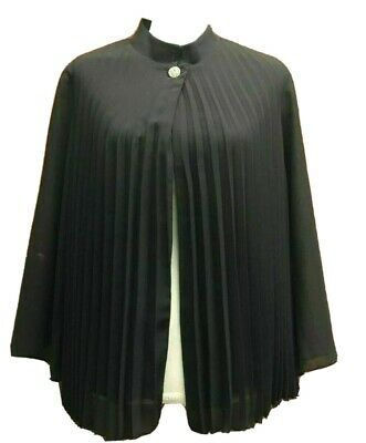 Lane Bryant Black Blazer Jacket Size 16W One Button New
