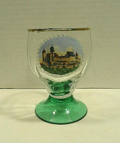 Vesta Coburg Germany Handpainted Glass