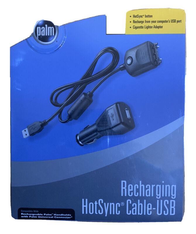 New Palm Recharging HotSync USB Cable 3ft Charging & Sync Cord P10884U