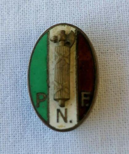 SPILLA DISTINTIVO PNF FASCIO PRIMO GENITO GIL MVSN FASCIST BADGE WW2