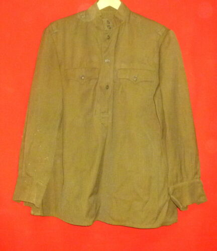 1965 Russian Soviet Army Officer Gimnasterka Tunic Shirt Size 50-52 USSR