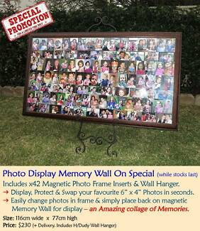 Picture Display Wall - Interchangeable Photo Wall
