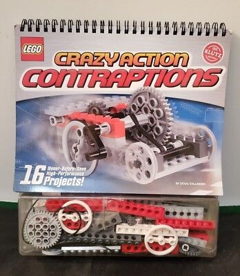 LEGO CRAZY ACTION CONTRAPTIONS - BUILDING KIT 87 Pcs UNOPENED 16 Projects KLUTZ - Lego Crazy Contraptions