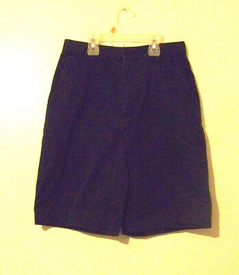 Boys French Toast Navy Blue Shorts Size 14 School Uniform EUC!!!
