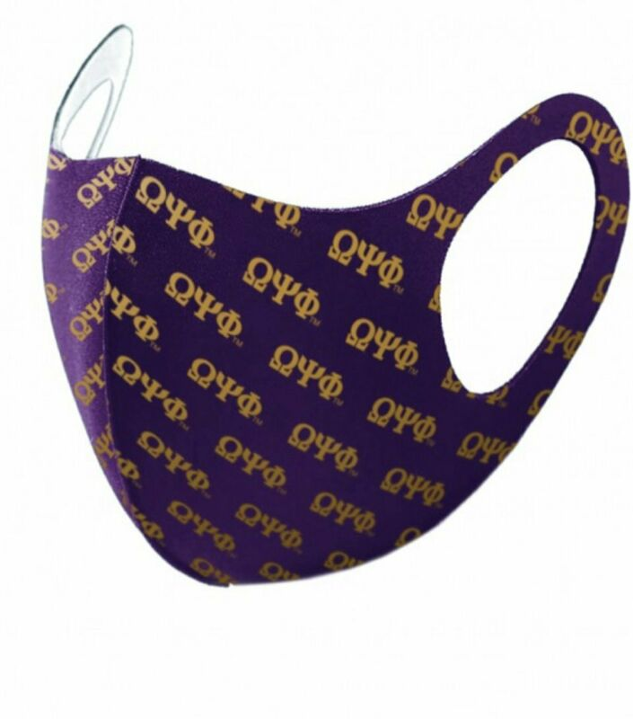 Omega Psi Phi - (Breathable) Face Mask