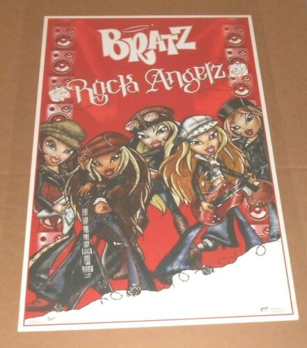 Bratz Rock Angelz Poster 34x22 Rad Speaker