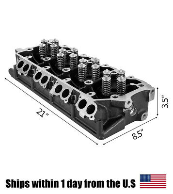 New Cylinder Head 20mm for FORD Super Duty F-250 F-350 6.0L Powerstroke Diesel