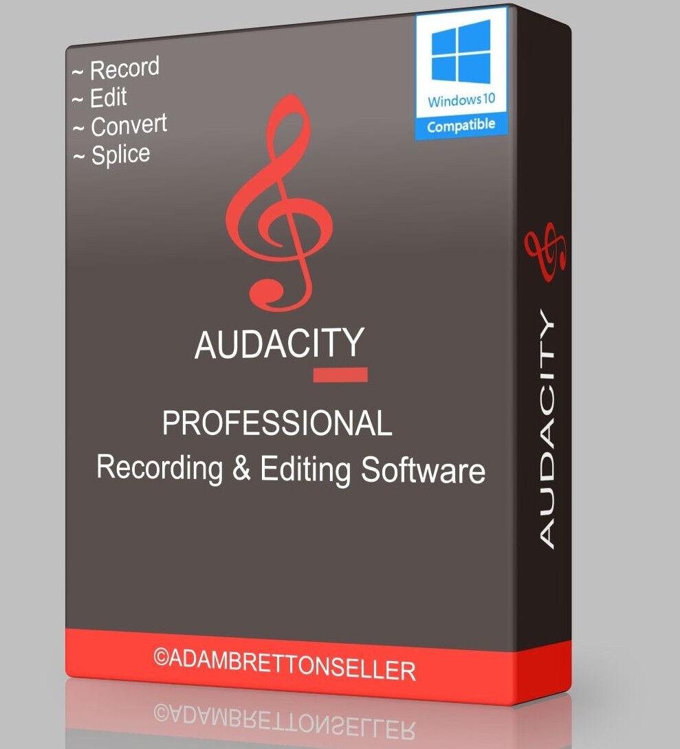 Music & Audio Recording & Editing Software, Multi-track Digital Sound Studio