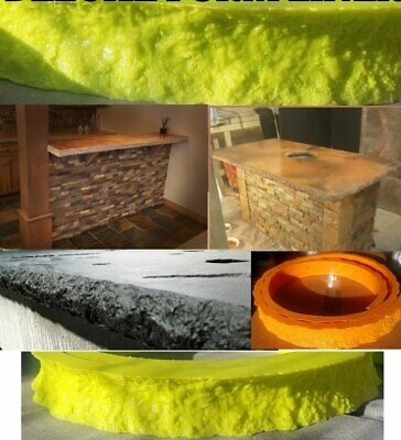 Concrete Countertop Edge Form Liners - Chiseled Edge Deluxe 2 Wide X Approxima
