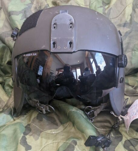 RCAF Gentex HGU-56 P Flight helmet aircrew Integrated Helmet: MEDIUM