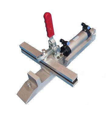 4 Pack Pneumatic Silk Screen Stretching Clamps Screen Printing Mesh Stretchers