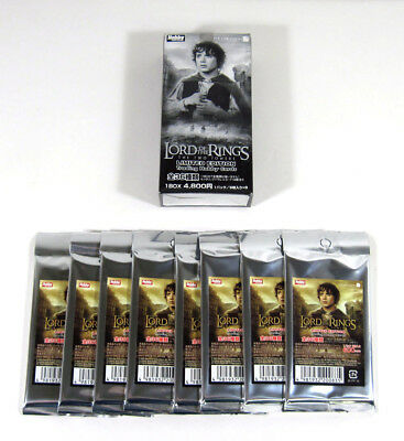 2003 The Lord of the Rings: The Two Towers Collectible Hobby Japan Box (8 Packs)