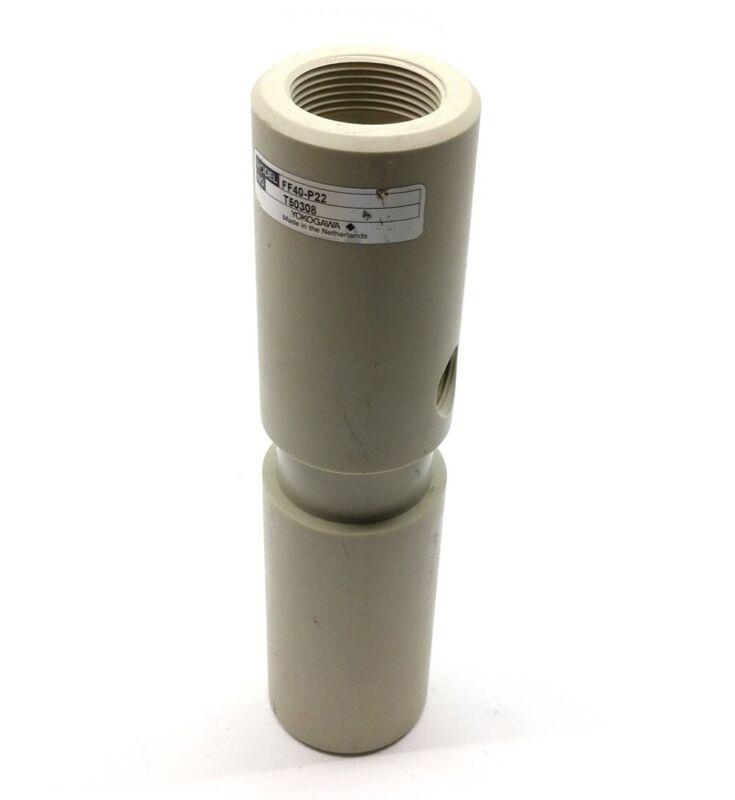 Yokogawa FF40-P22 Flow Fitting, Cell Housing Conductivity Sensor Plug-In