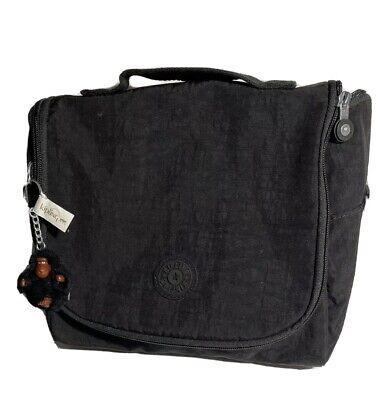 Kipling Kichirou Black Insulated Lunch Bag  Vintage VTG With Daniel Monkey