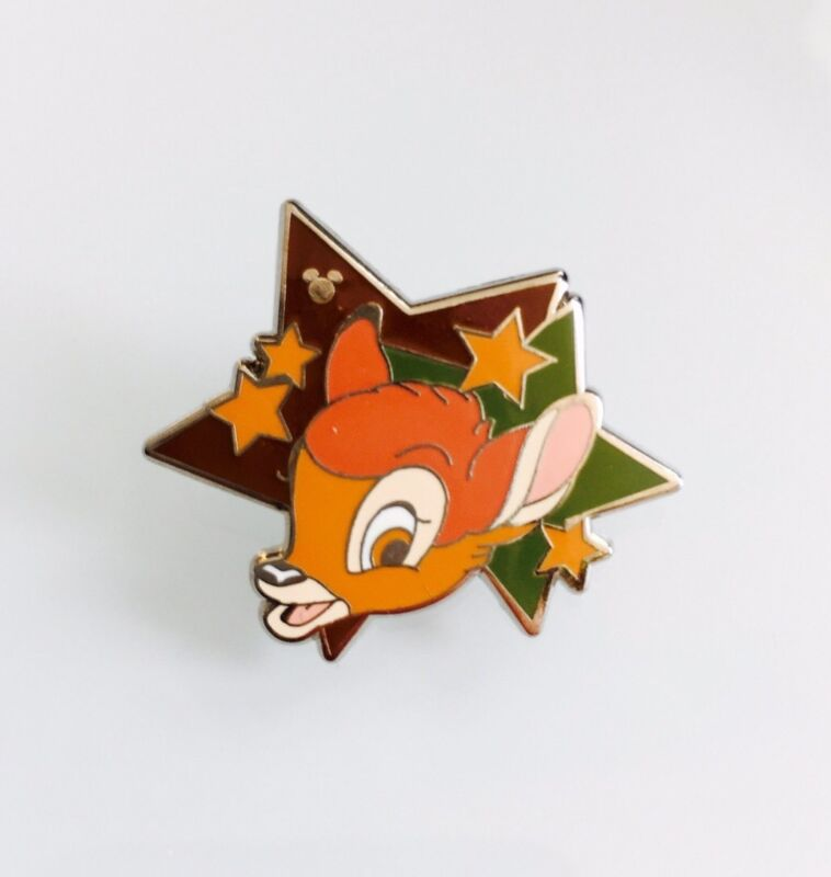 Disney WDW Star Characters Hidden Mickey Bambi Pin 91253