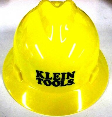 Klein Tools 60035 V-Gard Hard Hat with Klein Tools Standard Logo, Yellow