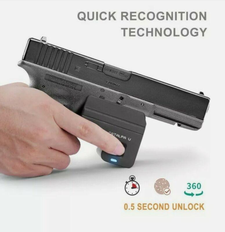 Biometric Fingerprint Trigger Lock Handgun DOJ Approved FOR GLOCK