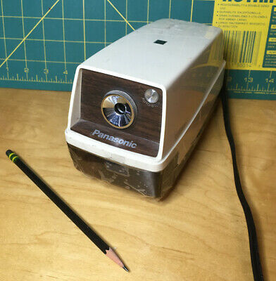 Vintage Panasonic Electric Pencil Sharpener Model Kp33 Tested Works Perfect
