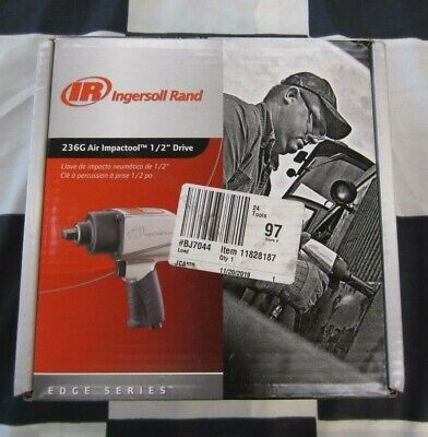 "NEW Ingersoll Rand 1/2"" Drive Air Impact Tool 236G - Edge Series"