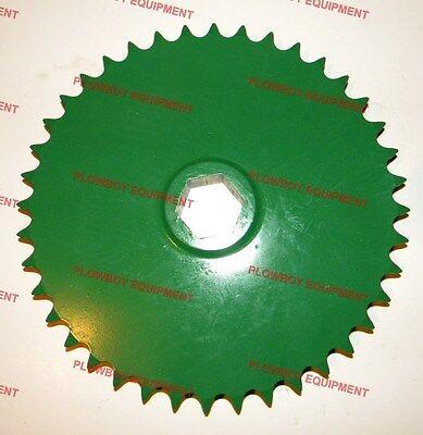 Ae39654 Upper Drive Roll Sprocket For John Deere Baler 385 435 448 466 535 556