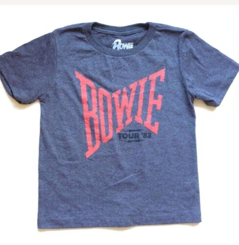 David Bowie 83 Concert Tour Baby t shirt