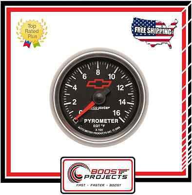 (AutoMeter Sport-Comp II Chevy Bowtie Analog Gauge * 3644-00406 *)