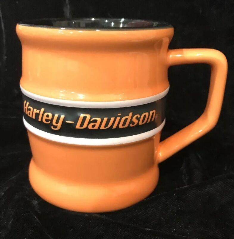 Harley Davidson Licensed Barrel Style Mug