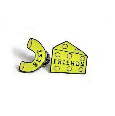 BEST FRIENDS MAC & CHEESE Enamel Pin