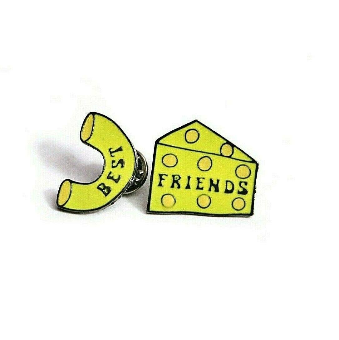 BEST FRIENDS MAC & CHEESE Enamel Pin Set